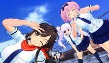 Senran Kagura Burst Re:Newal Trailer, Screens Get Lewd