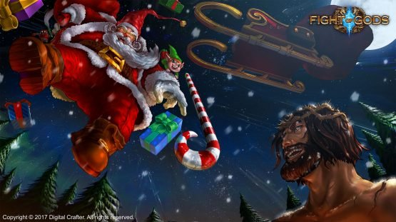 Fight Of Gods Roster Adds Santa, Santa vs Jesus Trailer Released