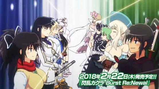 The Senran Kagura Burst Re:Newal Opening Movie is Here!