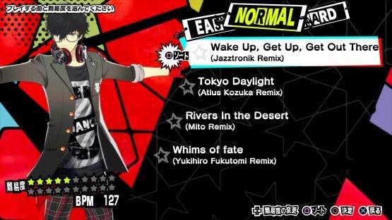 New Persona 3: Dancing Moon Night and Persona 5: Dancing Star Night Screenshots