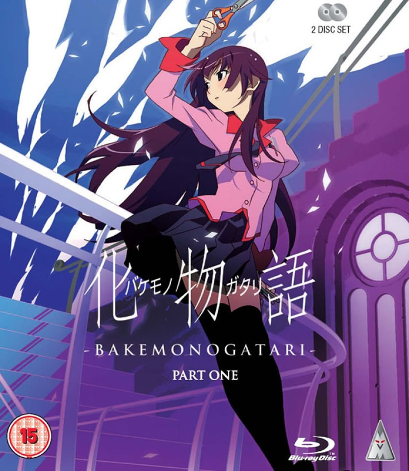 Anime Manga Covers: Bakemonogatari Manga Announced With Kodansha