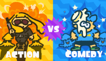 Splatoon 2 Splatfest Asks if You Like Action or Comedy Movies