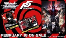 Persona 5 Weiss Schwarz English Cards Get Release Date & Trailer