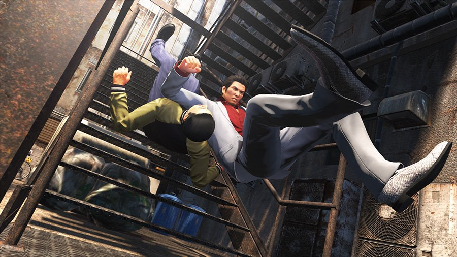 Games and other media revolving the Yakuza franchise: