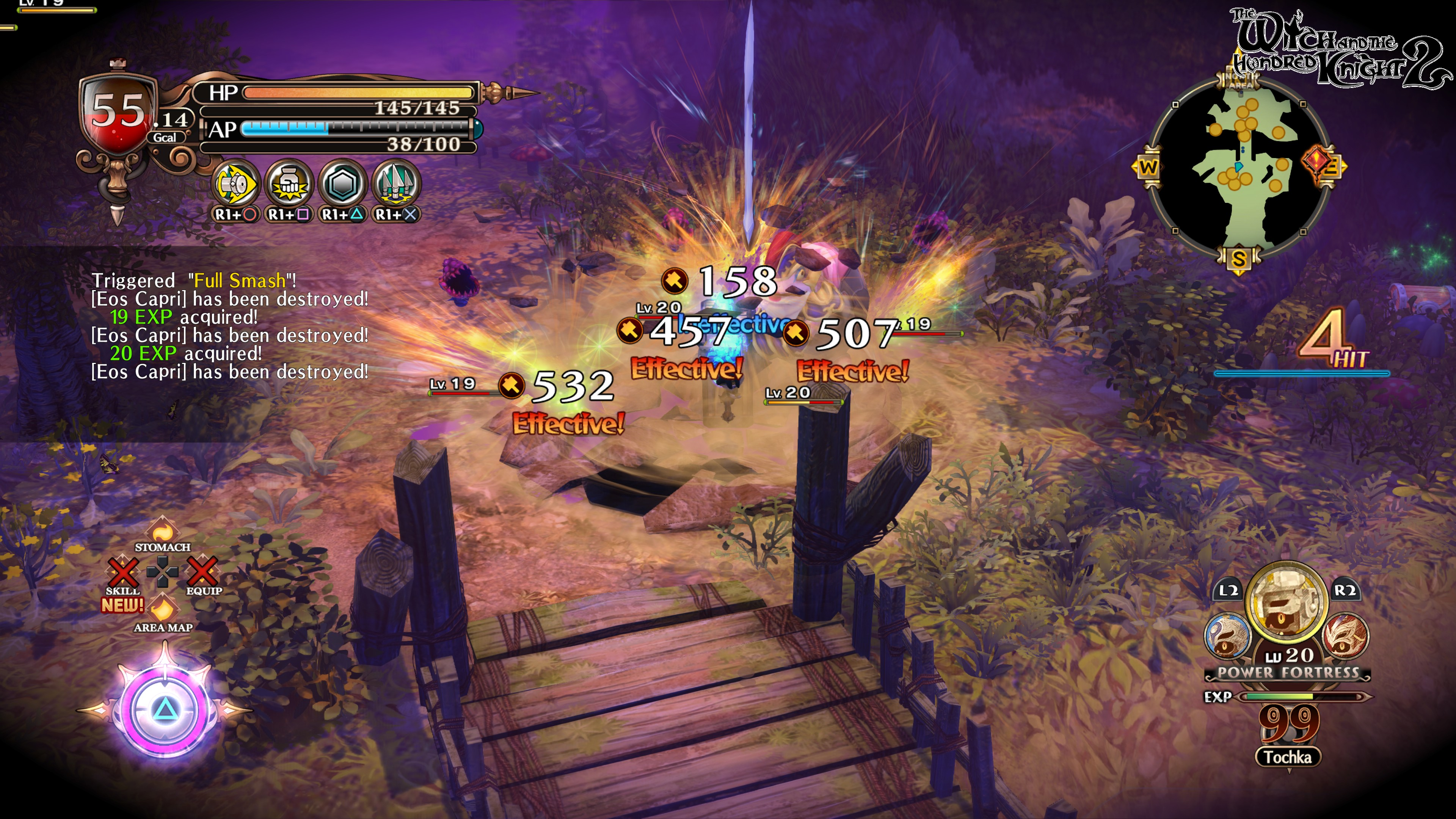 The Witch and the Hundred Knight 2 Review (PS4) - Rice Digital