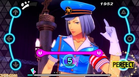 First Look at Persona Dancing Game DLC Characters Theodore and Lavenza