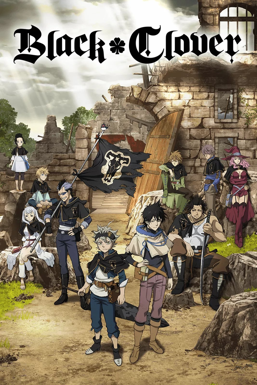 Black Clover Season One Part One Releases In The Uk This