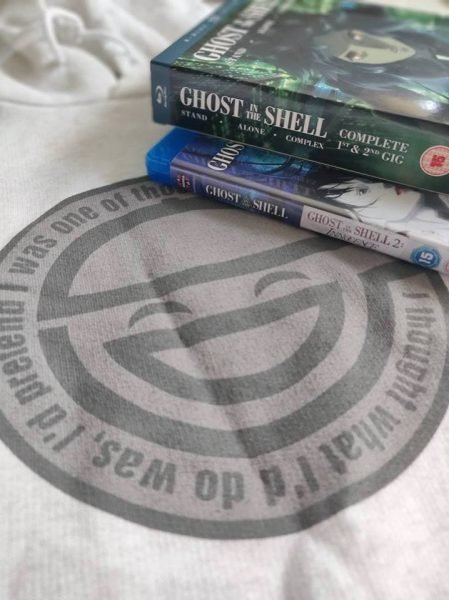 ghost in the shell giveaway