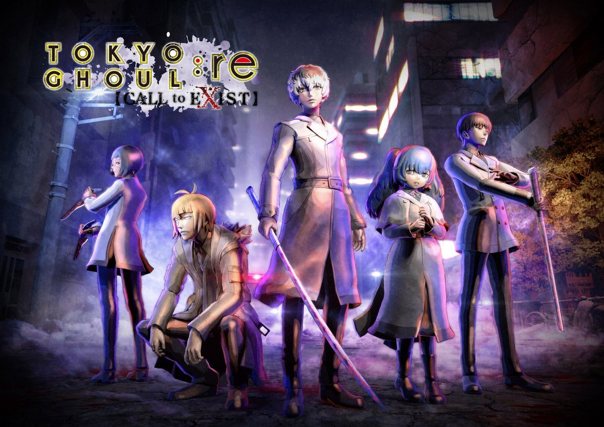 Tokyo Ghoul re: Call to Exist Shows Off Quinx Squad - Rice