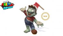 Zombie Mario is the Next Super Mario Odyssey Costume
