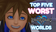 The Top Five Worst Kingdom Hearts Worlds