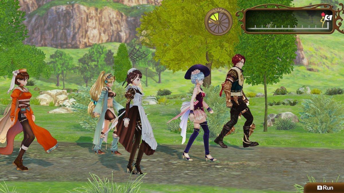 Nelke and the Legendary Alchemist Review walk
