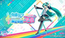 Project Diva Switch Title Hatsune Miku: Project Diva Mega 39's Announced