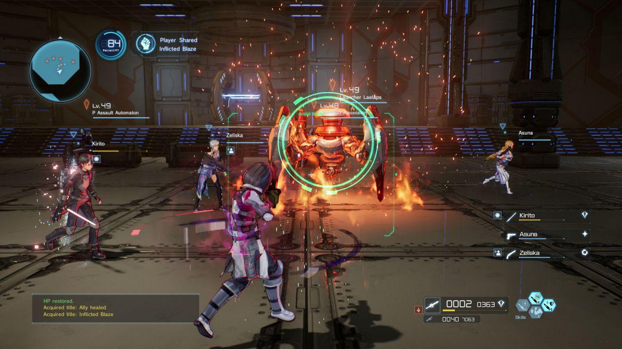 Sword Art Online Fatal Bullet Switch Review_7