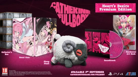 Catherine: Full Body is Available Now on PS4