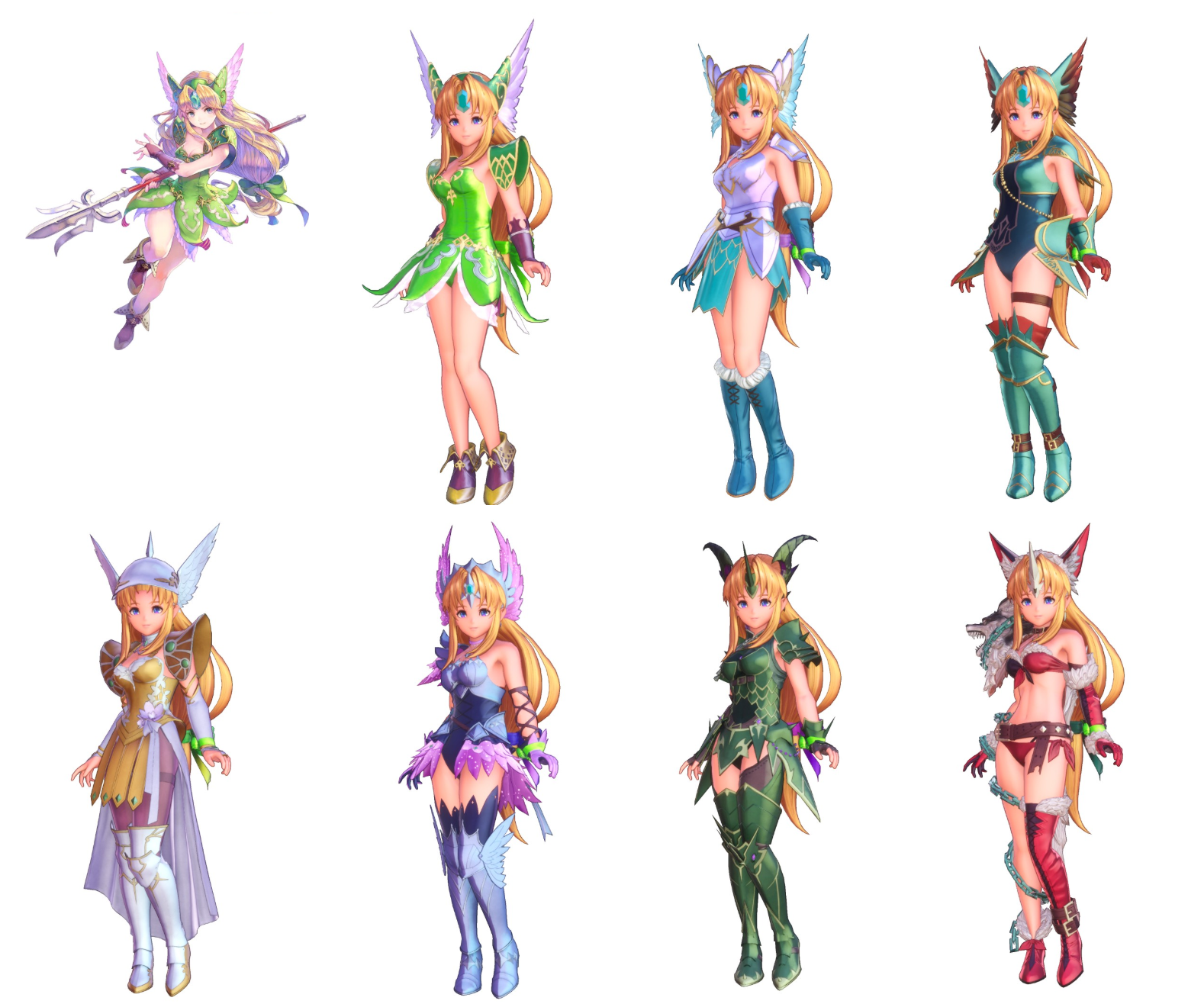 Reisz Trials of Mana characters and classes