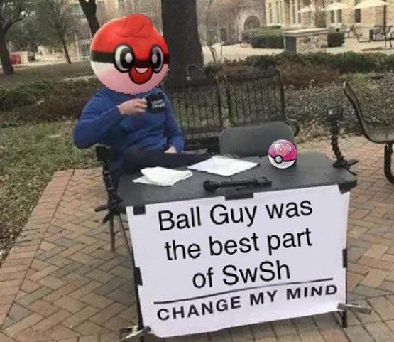 Ball Guy pokemon memes