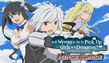 Is It Wrong To Try To Pick Up Girls In A Dungeon? – Infinite Combate Western Release Announced