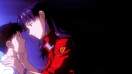 Top 5 Anime Kisses Neon Genesis