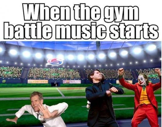 pokemon meme gym music