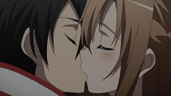 Top 5 Anime Kisses Sword Art