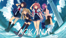 Aokana – Four Rhythms Across the Blue Coming West This Summer