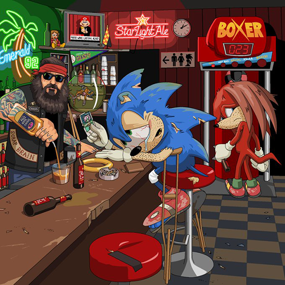 jim'll paint it sonic