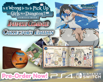 danmachi collectors edition preorder