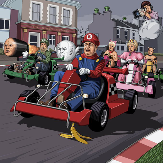 jim'll paint it mario kart
