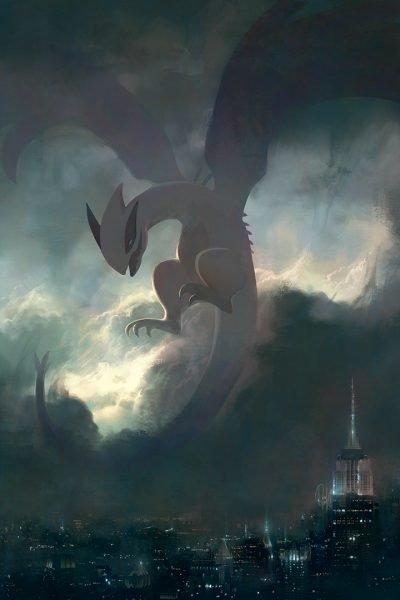 legendary pokemon art