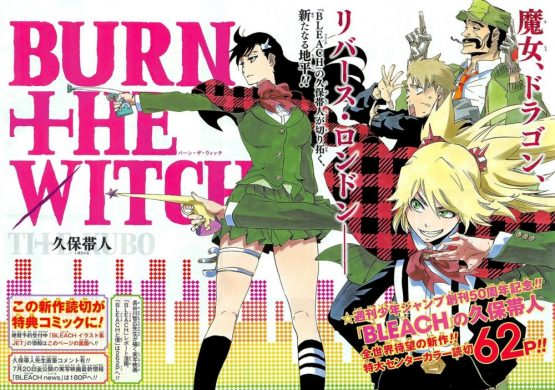 new bleach anime burn the witch