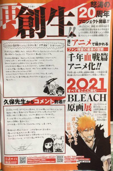 new bleach anime