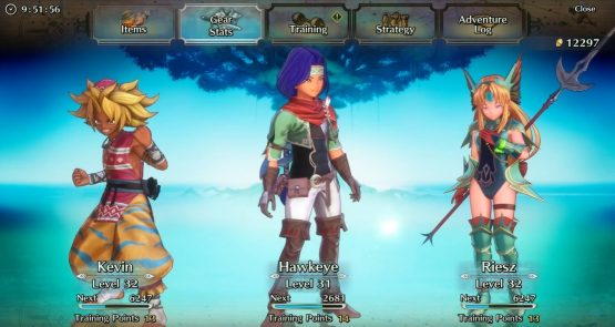trials of mana gameplay
